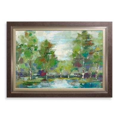 Forest at Dawn 31-Inch x 43-Inch Wall Art