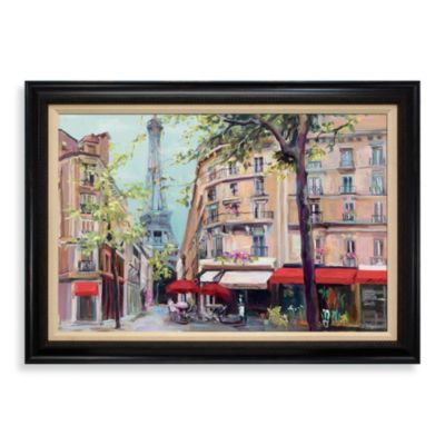 Spring Time in Paris 31-Inch x 43-Inch Wall Art