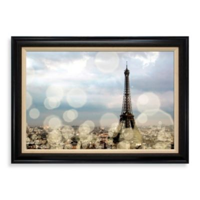 City of Lights 31-Inch x 43-Inch Wall Art