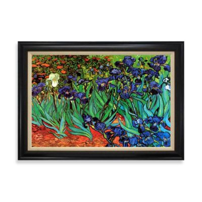 Irises of Saint-Remy Wall Art