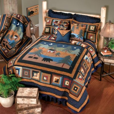 Donna Sharp Midnight Bear Twin Quilt