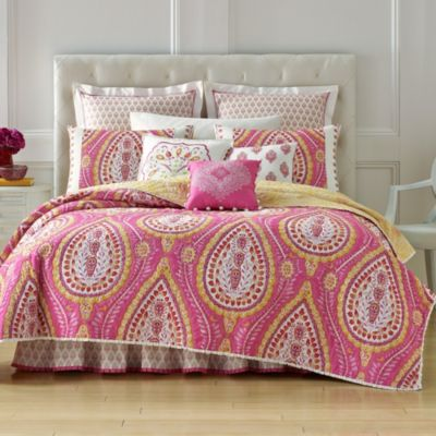 Pink Yellow Quilts