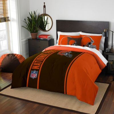 NFL Cleveland Browns Full Embroidered Comforter Set