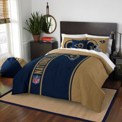 NFL St. Louis Rams Twin Embroidered Comforter Set