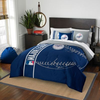 MLB Los Angeles Dodgers Twin Embroidered Comforter Set