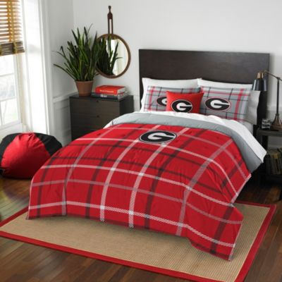University of Georgia Twin Embroidered Comforter Set
