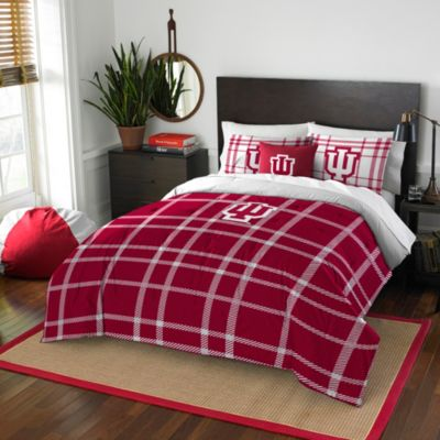 Indiana University Full Embroidered Comforter Set