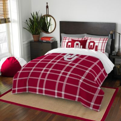 University of Oklahoma Twin Embroidered Comforter Set