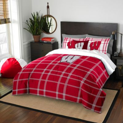 University of Wisconsin Twin Embroidered Comforter Set