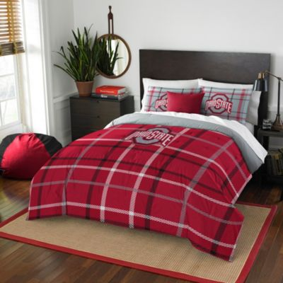 Ohio State University Full Embroidered Comforter Set