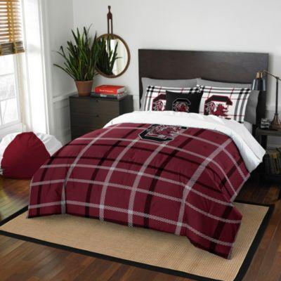 University of South Carolina Full Embroidered Comforter Set