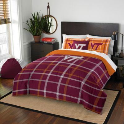 Virginia Tech Twin Embroidered Comforter Set