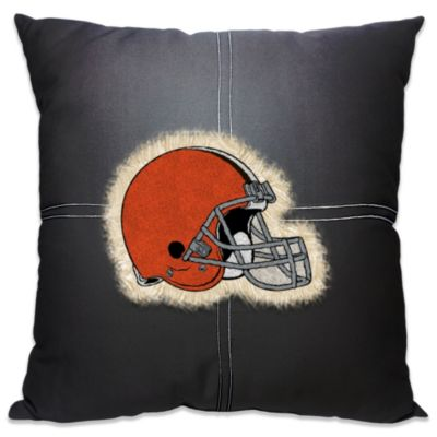 NFL Cleveland Browns 18-Inch Letterman Throw Pillow