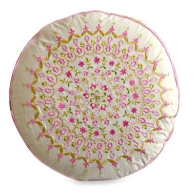 Dena™ Home Pretty in Pink Round Throw Pillow