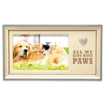 Grasslands Road® All My Kids Have Paws 4-Inch x 6-Inch Picture Frame