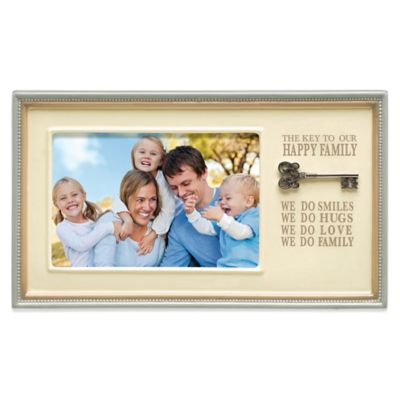 Grasslands Road® Happy Family 4-Inch x 6-Inch Picture Frame