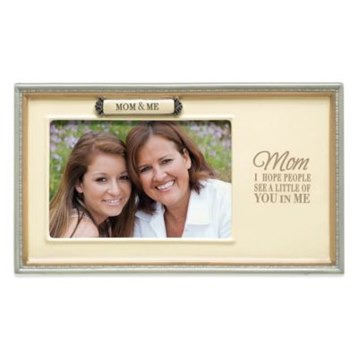 Grasslands Road® Mom & Me 4-Inch x 6-Inch Picture Frame
