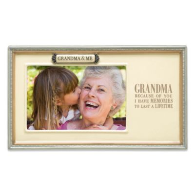 Grasslands Road® Grandma & Me 4-Inch x 6-Inch Picture Frame
