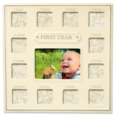 Baby Monthly Photos Picture Frame