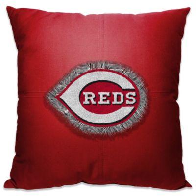 MLB Cincinnati Reds 18-Inch Letterman Toss Pillow