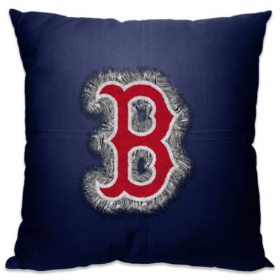 MLB Boston Red Sox 18-Inch Letterman Toss Pillow
