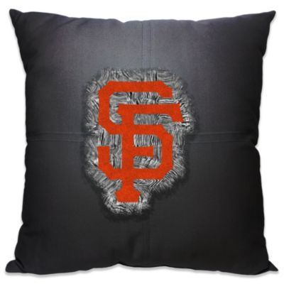 MLB San Francisco Giants 18-Inch Letterman Toss Pillow