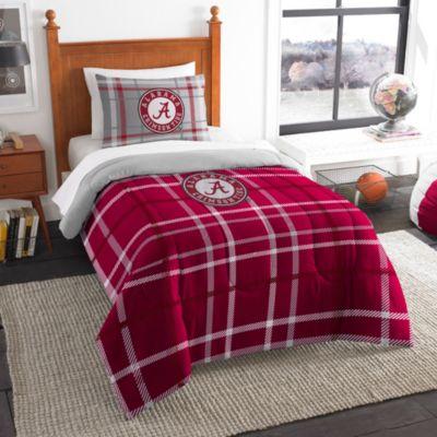 University of Alabama Twin Embroidered Comforter Set