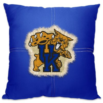 University of Kentucky 18-Inch Letterman Throw Pillow