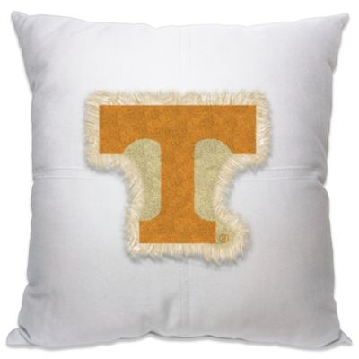 University of Tennessee 18-Inch Letterman Throw Pillow