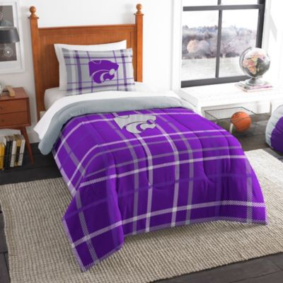 Kansas State University Twin Embroidered Comforter Set