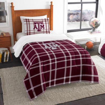 Texas A&M University Twin Embroidered Comforter Set