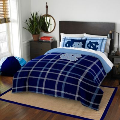 University of North Carolina Twin Embroidered Comforter Set