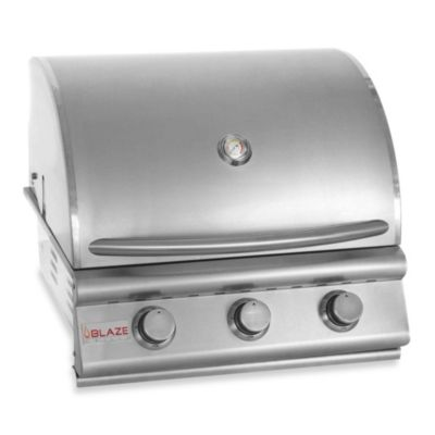 Blaze Outdoor Products 3-Burner Built-In Propane Gas Grill