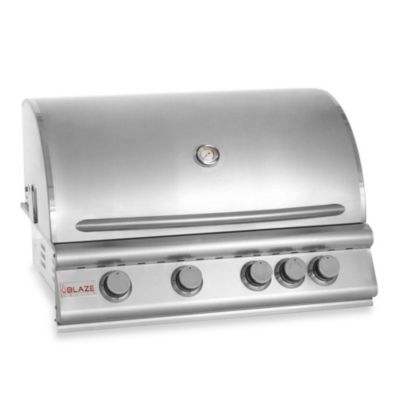 Blaze Outdoor Products 4-Burner Built-In Propane Gas Grill