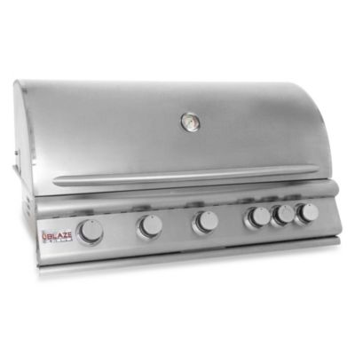 Blaze Outdoor Products 5-Burner Built-In Propane Gas Grill