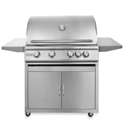 Blaze Outdoor Products 32-Inch 4-Burner LP Propane Gas Grill with Cart