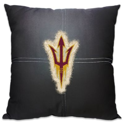 Arizona State University 18-Inch Letterman Throw Pillow
