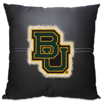 Baylor University 18-Inch Letterman Throw Pillow