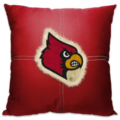 University of Louisville 18-Inch Letterman Throw Pillow