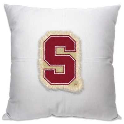 Stanford University 18-Inch Letterman Throw Pillow