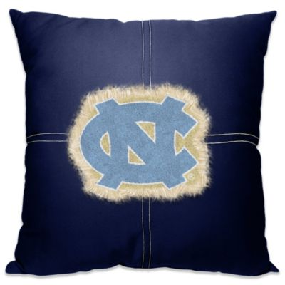 University of North Carolina 18-Inch Letterman Throw Pillow