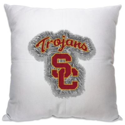 USC 18-Inch Letterman Throw Pillow