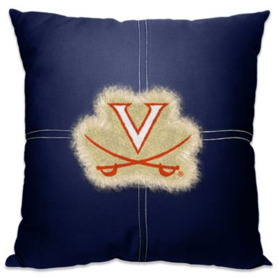University of Virginia 18-Inch Letterman Throw Pillow