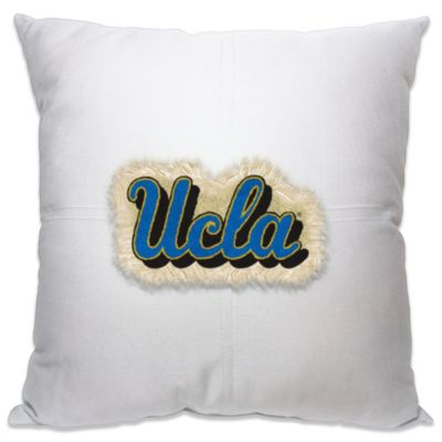 UCLA 18-Inch Letterman Throw Pillow