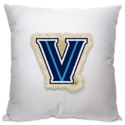 Villanova University 18-Inch Letterman Throw Pillow