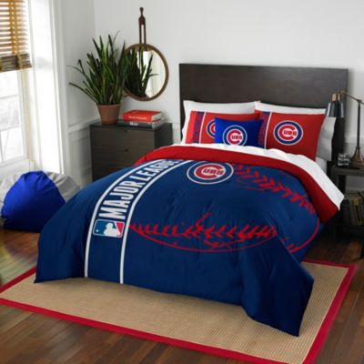 MLB Chicago Cubs Twin Embroidered Comforter Set