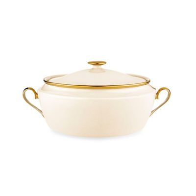 Lenox® Eternal® Covered Vegetable Bowl