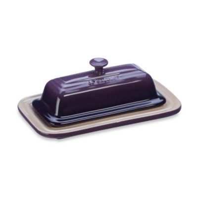 Le Creuset® Butter Dish in Cassis