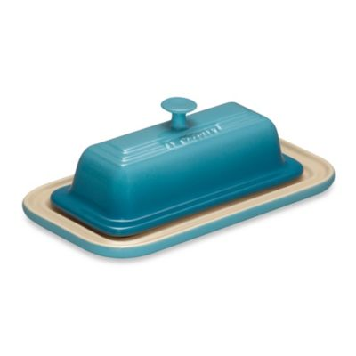 Le Creuset® 7.6-Inch Butter Dish in Caribbean