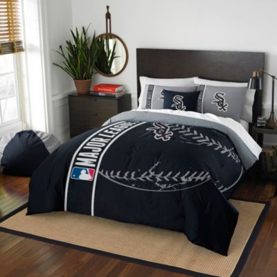 MLB Chicago White Sox Full Embroidered Comforter Set